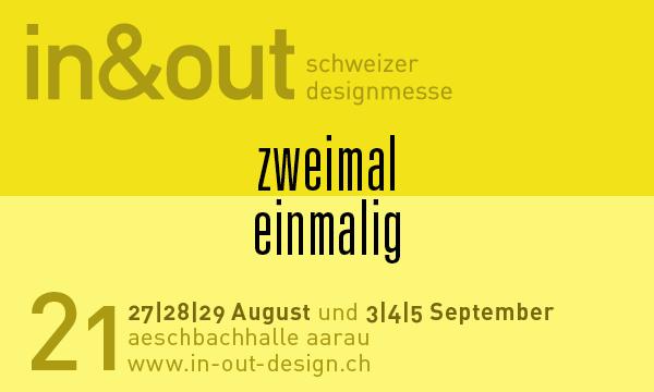 in&out 2021  Aarau 27   28   29 August